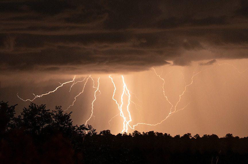 Lightning San Cristobal NM