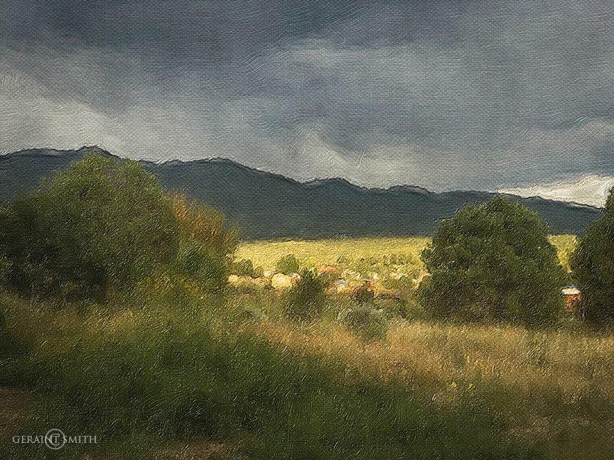 San Cristobal Valley evening light