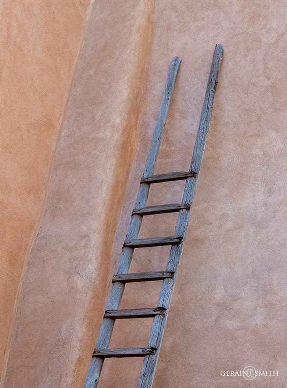 Adobe Ladder, Taos, New Mexico