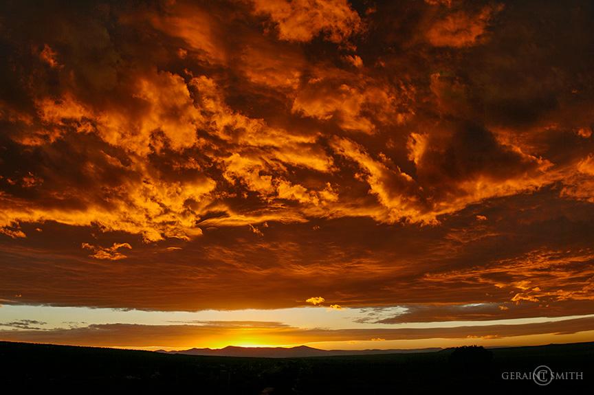 Jemez Caldera Sunset