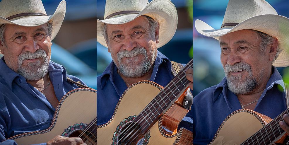 Musician, Taos Farmers Market.
