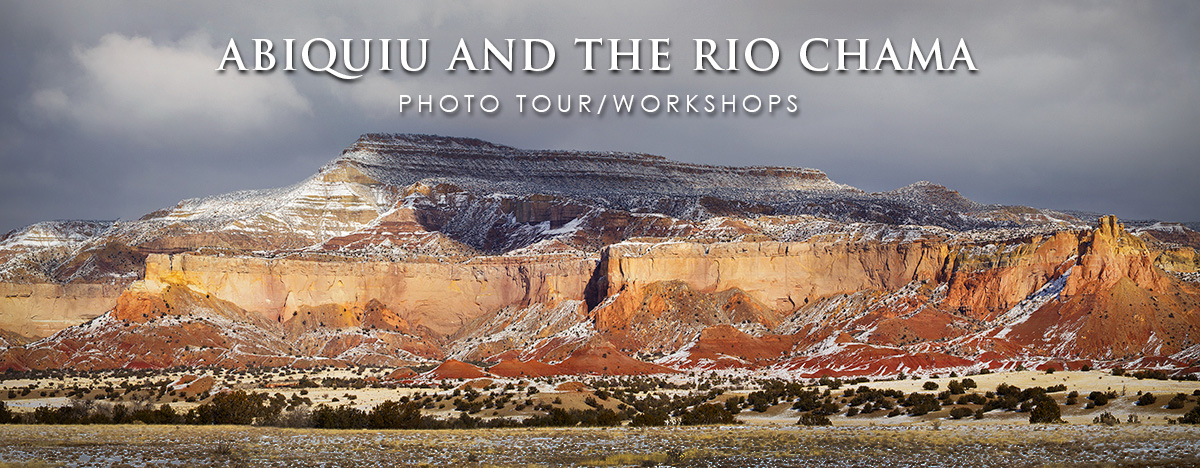 Photo tour/workshops Abiquiu New Mexico