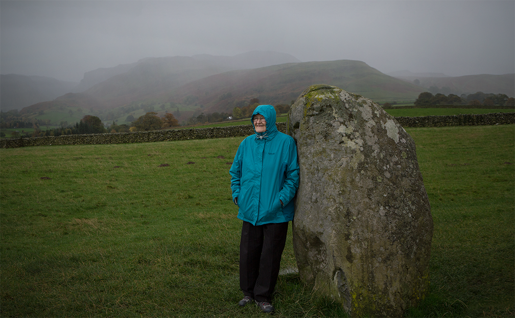 Castlerigg stone circle in the English Lake