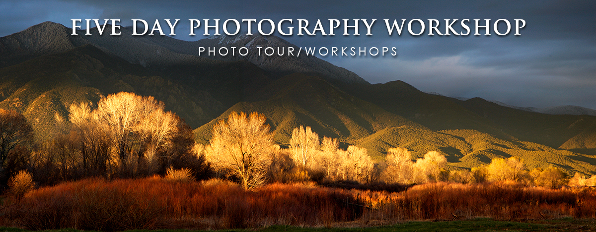 Five day photography workshop