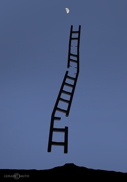 "Update for the times, ""Ladder To The Moon"""