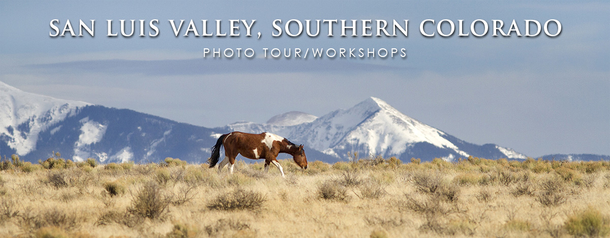 San Luis Valley photo tour workshop