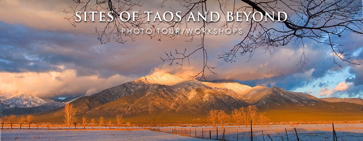 Sites of Taos photo Tour/Workshops