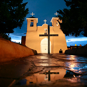 Sites of Taos photo tour St. Francis Church Ranchos de Taos