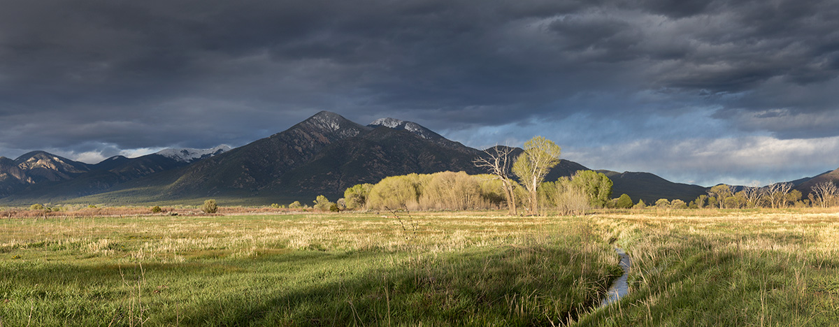 Taos mountain acequia