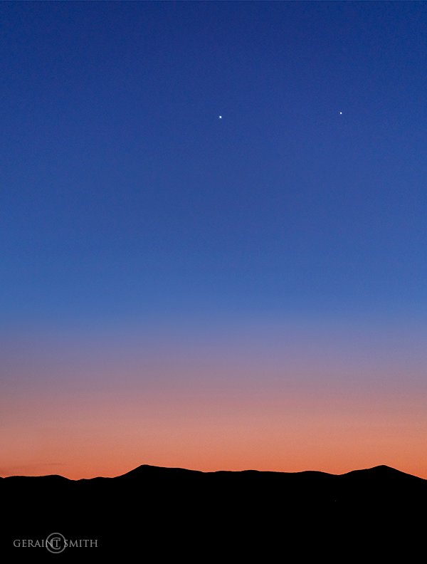 Conjunction, Venus and Jupiter