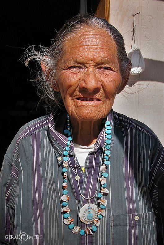 Navajo Elder, Annie, Arizona, 2011.