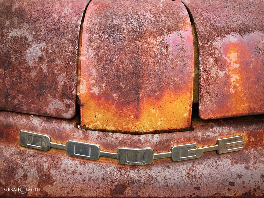 Rust On Rust On Dodge Truck, Utah