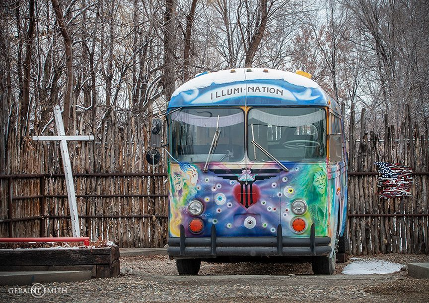 Illumination Bus, Taos, New Mexico