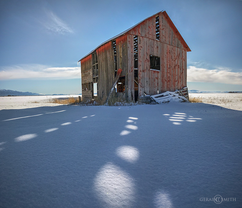 Red Barn, San Luis Valley