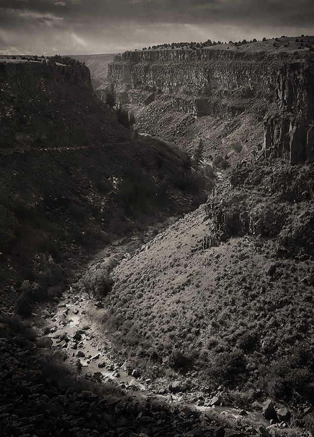 Rio Pueblo Gorge, Morning Light