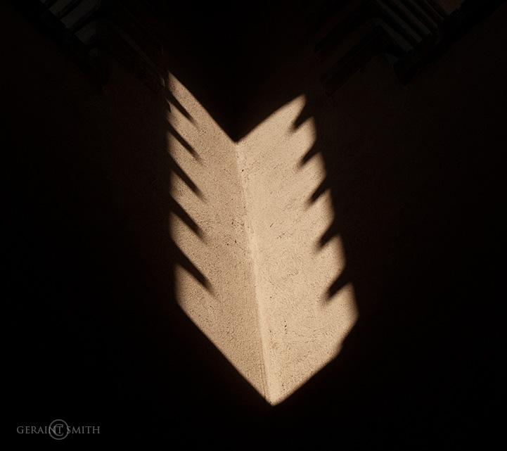 Santa Fe Stairwell Shadows