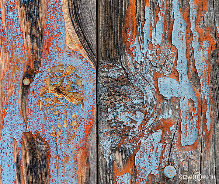 Paint patina, Truchas, New Mexico