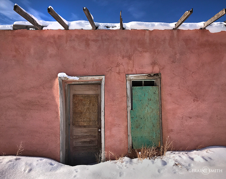 Pink Adobe, Costilla, New Mexico