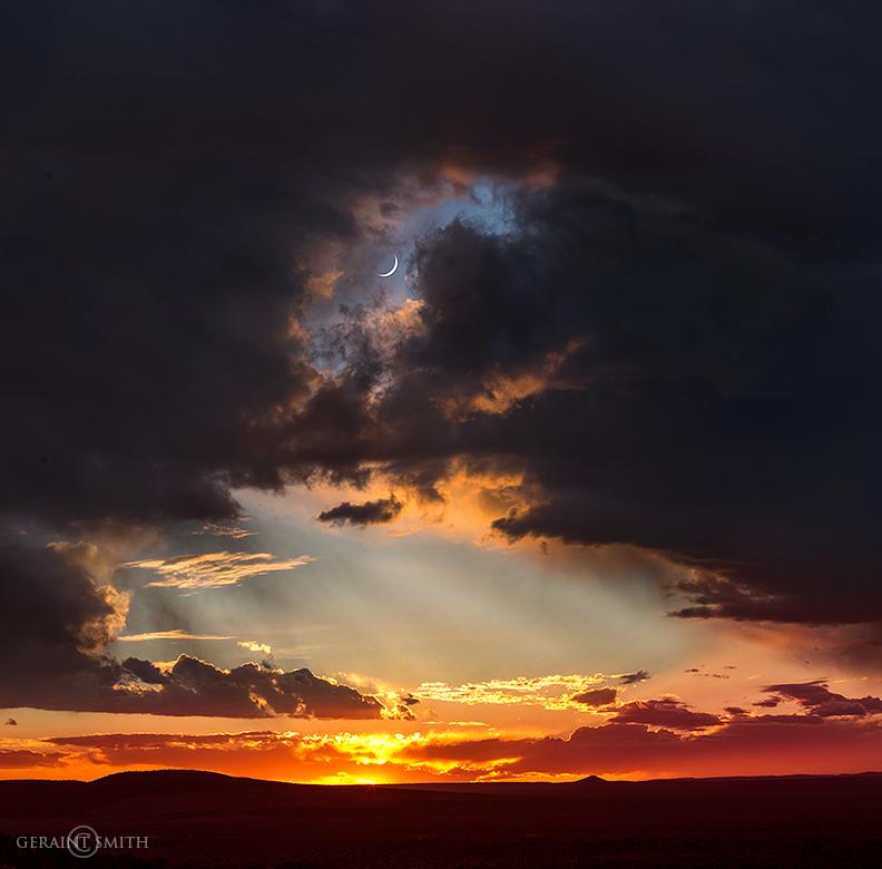 Sky Watching, Taos Volcanic Field, Plateau