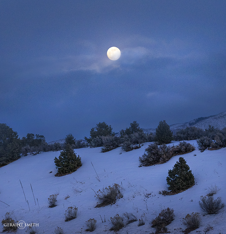 Wolf Moon Rising, Lama, New Mexico
