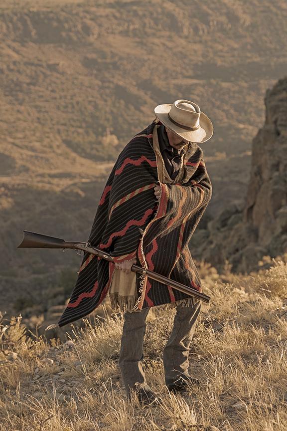 """Navajo Moki Serape circa 1860-70's """"Bound for Dine 'tah"""""""