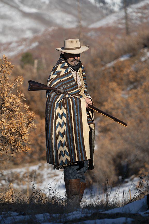 Classic Rio Grande blanket circa 1850-60s