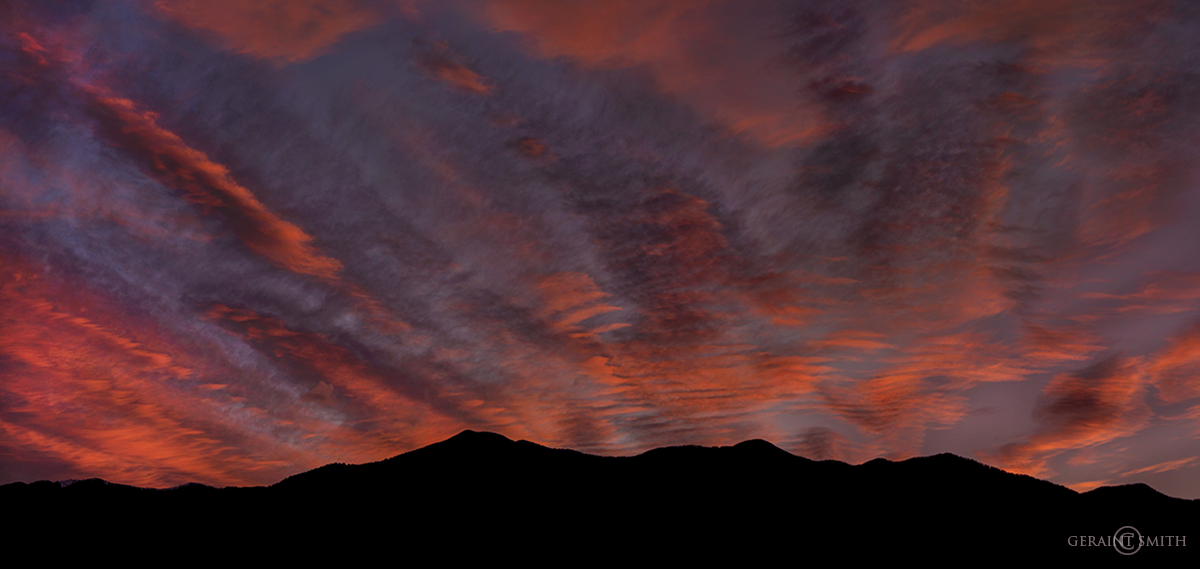 Sunrise, Sangre De Cristo Mountains, NM.