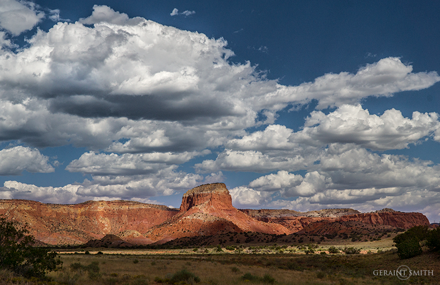 Orphan Mesa, Ghost Ranch, New Mexico