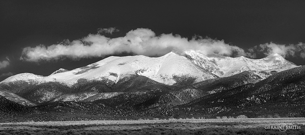 Sangre de Cristo Mountain snows.