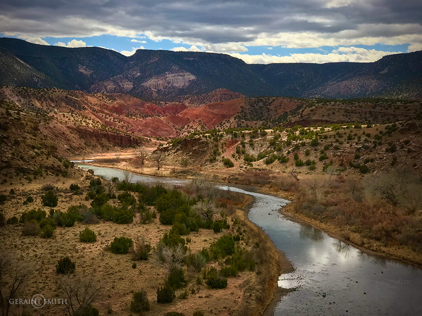 March, along the Rio Chama in Abiquiu, New Mexico