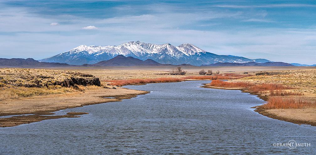 Rio Grande, Blanca Peak, Colorado.