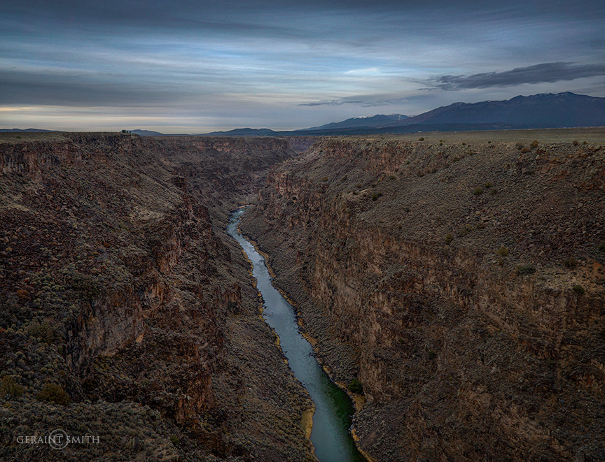 Rio Grande Gorge, northern New Mexico