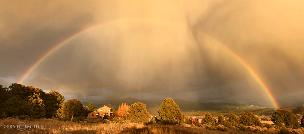 Rainbow, Winter Light, San Cristobal Valley