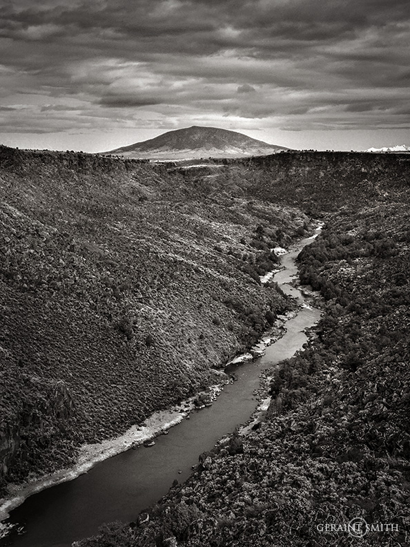 Ute Mountain, with the Rio Grande Gorge, northern New Mexico.