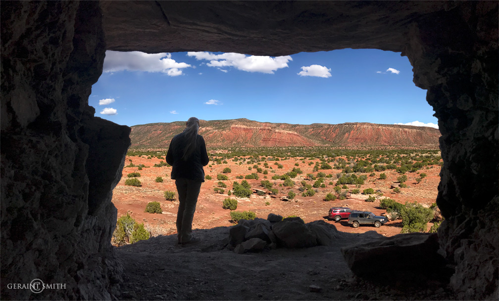 Cave view, New Mexico back country