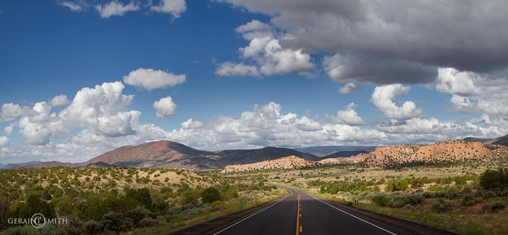 Highway 285, Ojo Caliente, New Mexico.