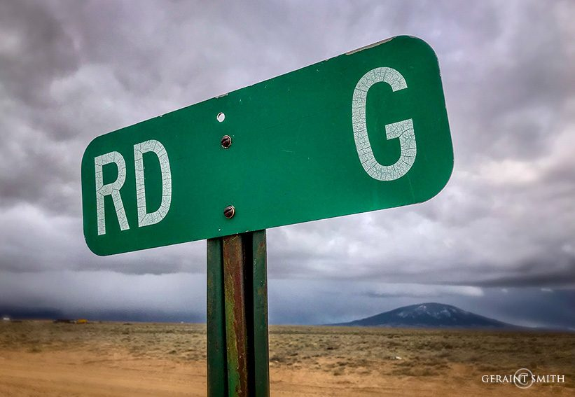 Road G, in Southern Colorado.