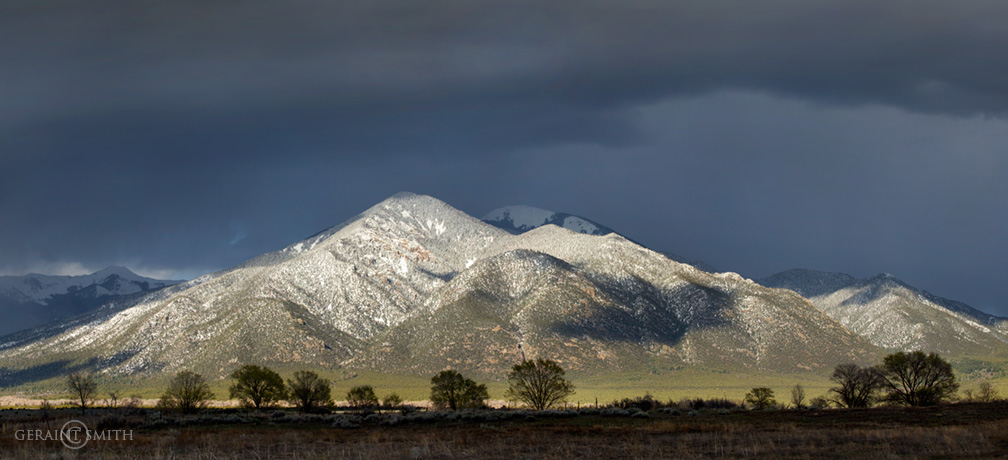 Spring, Taos Mountain light