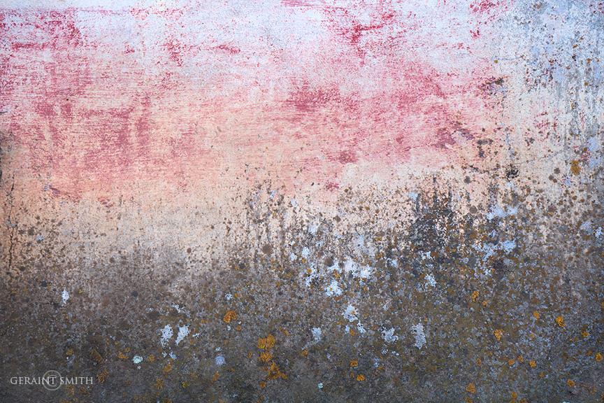 Wall painting, patina, Holman, NM.
