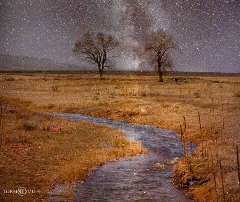 American Creek, in the Moreno Valley, northern New Mexico