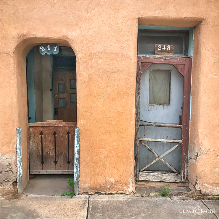Doorways, Las Vegas, New Mexico.