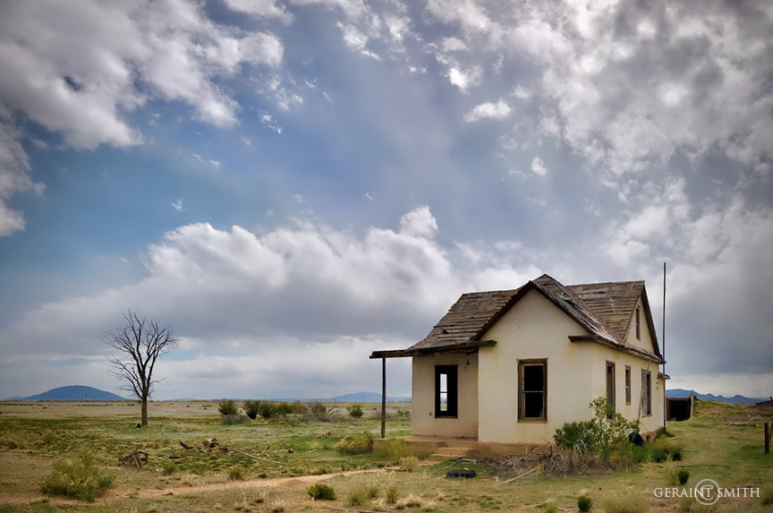 San Luis Valley homestead, Colorado