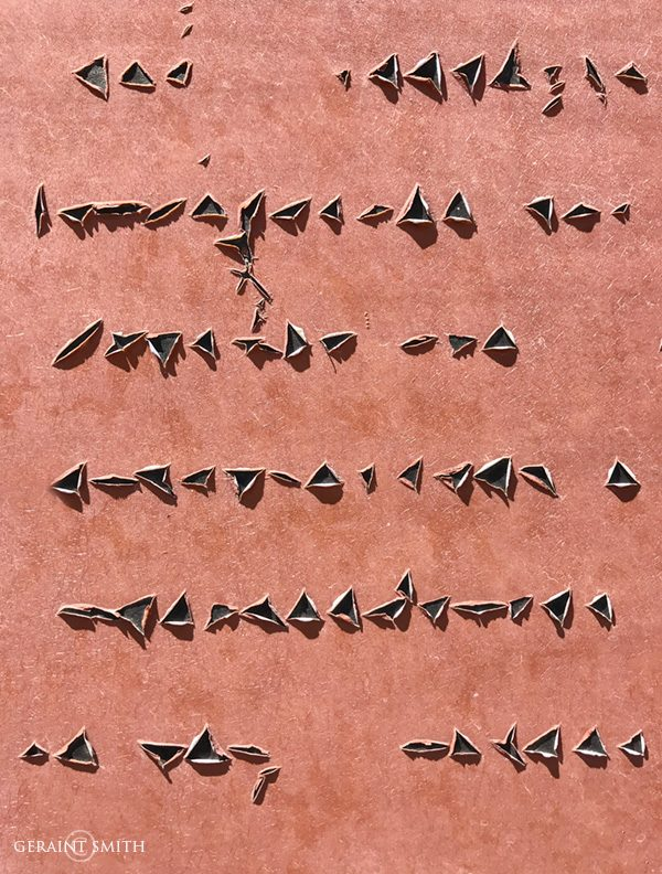 Glyphs, signs, an encrypted language in the Rio Grande Del Norte?