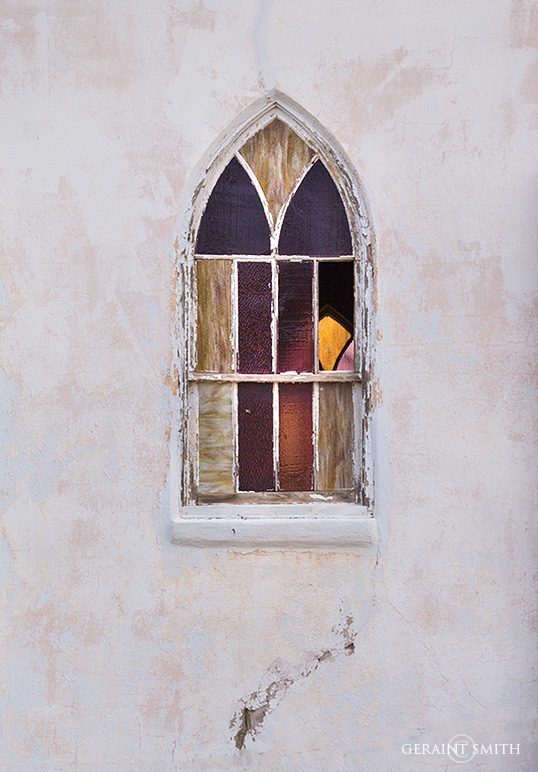 Tucumcari NM, Church Window