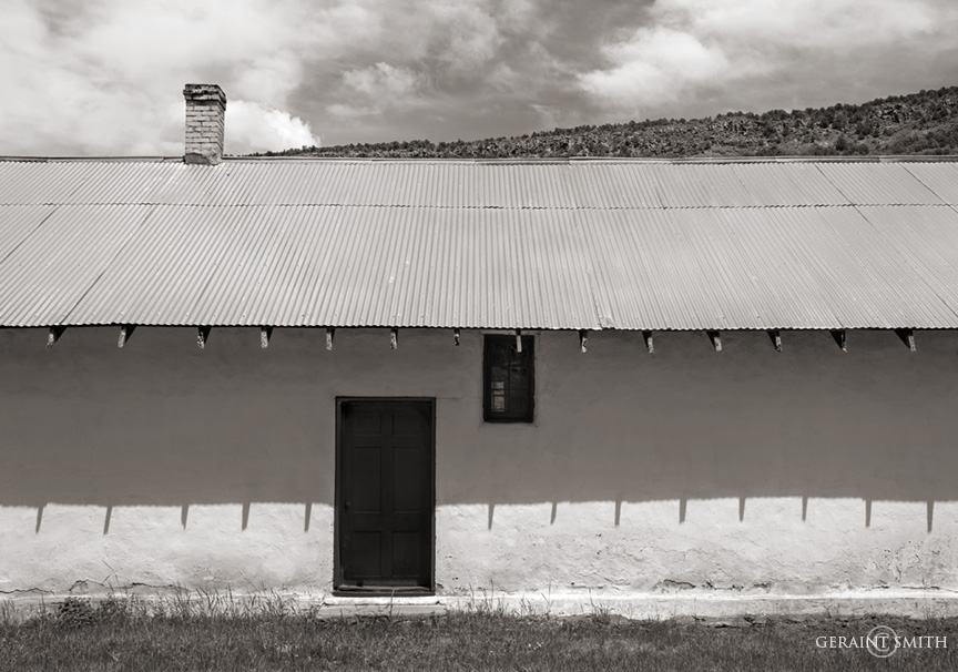 Dance Hall (formerly), in Petaca, New Mexico.