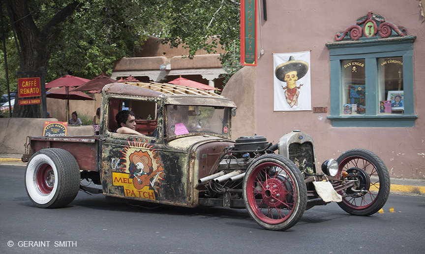 Classic Car Show, Taos, New Mexico.
