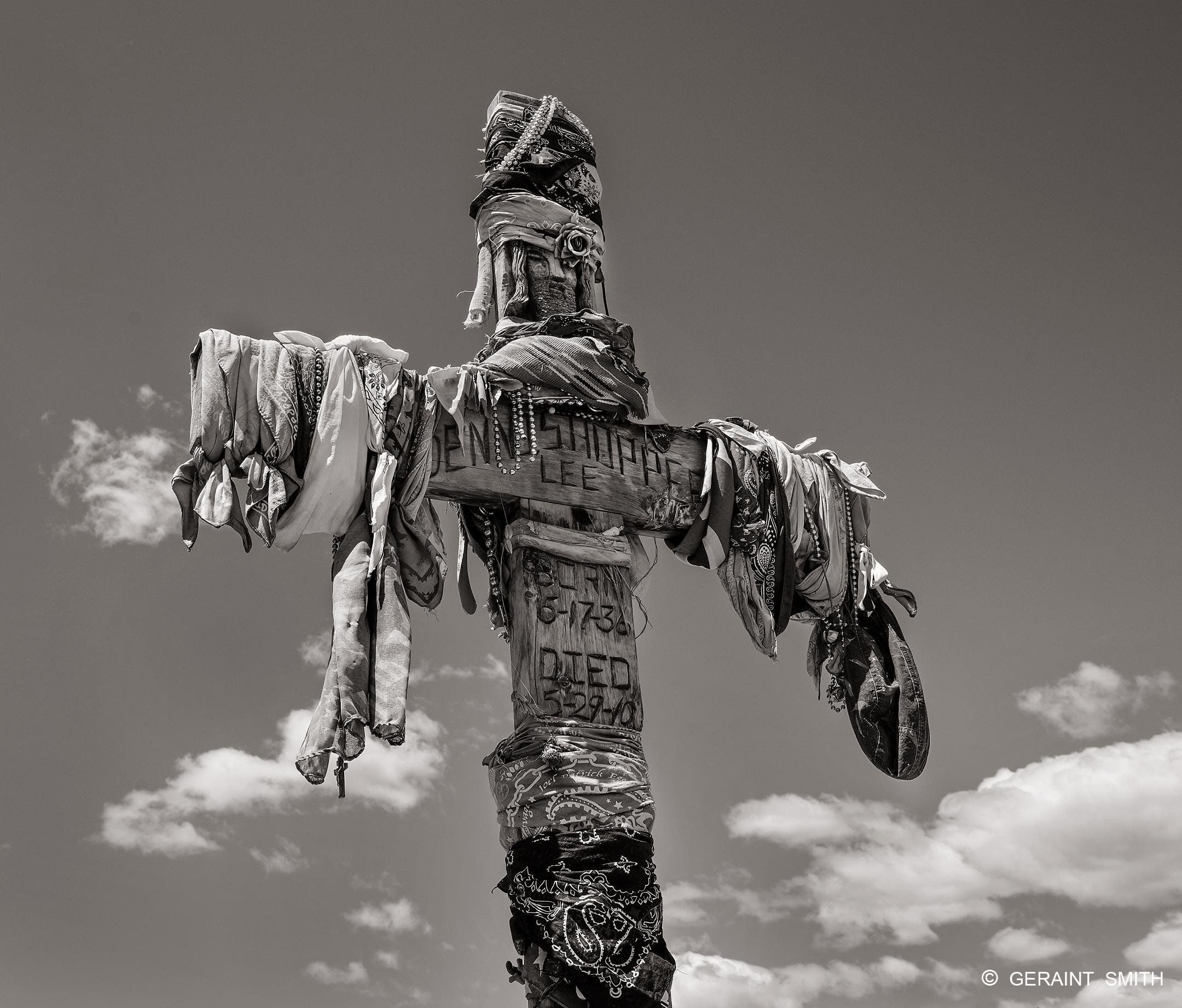Dennis Hopper's last resting place, Ranchos de Taos, NM.