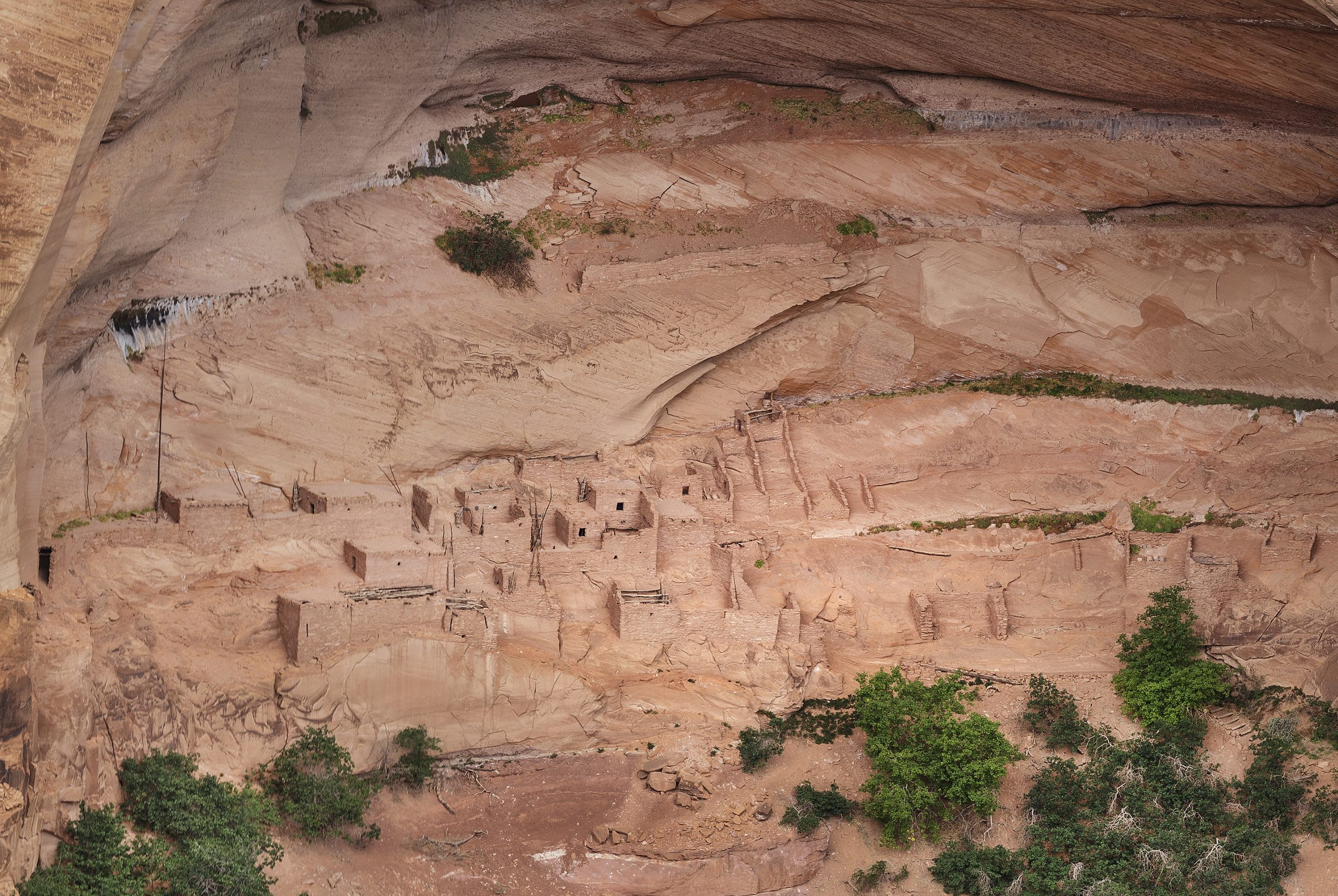 Close up of the Navajo National Monument
