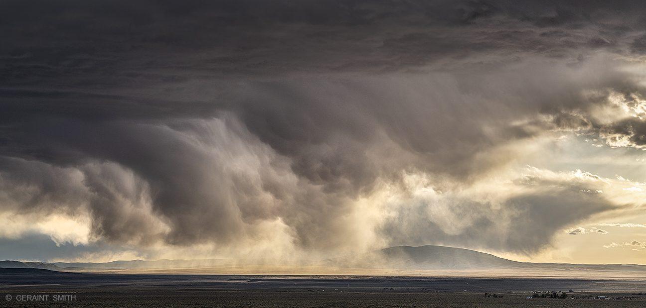 San Antonio Mountain, Taos Plateau, Volcanic Field, Storm.