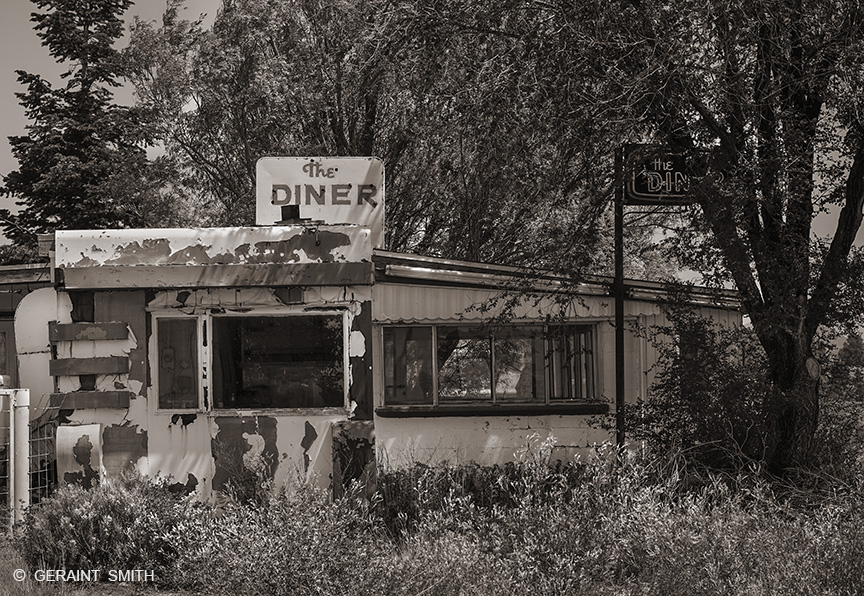 The Diner, Tres Piedras, (Three Rocks), New Mexico